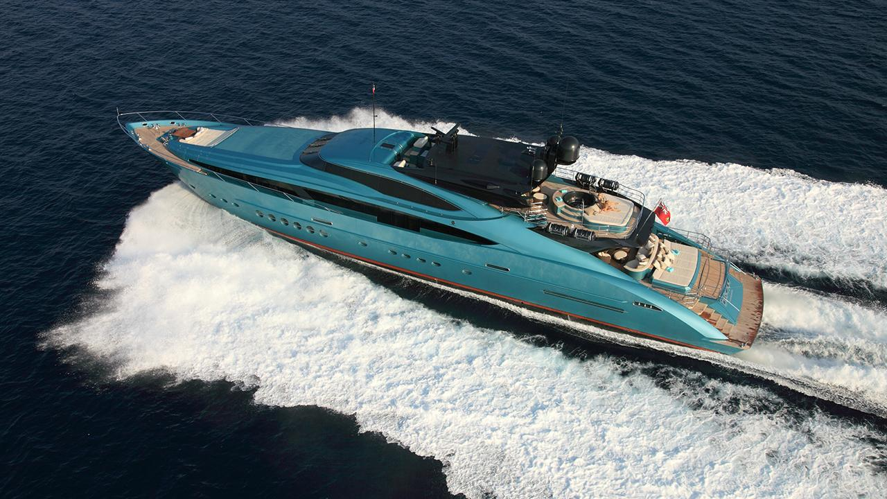500 000 price cut on palmer johnson motor yacht blue ice for Ice scratcher boat motor for sale