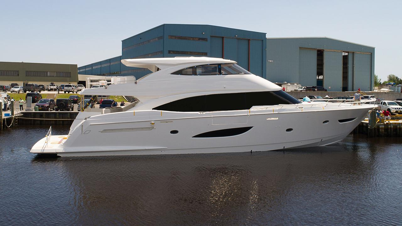 Viking Has Launched New Motor Yacht Viking 93 Yachts In