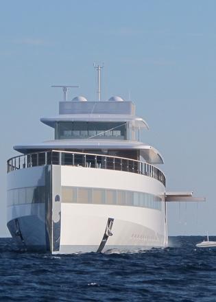 See the first photos of Steve Jobs' superyacht Venus post ...