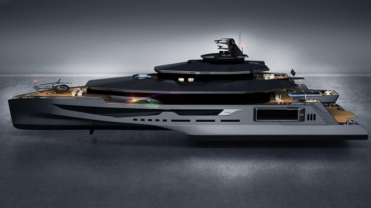 Calibre 102m Yacht Concept