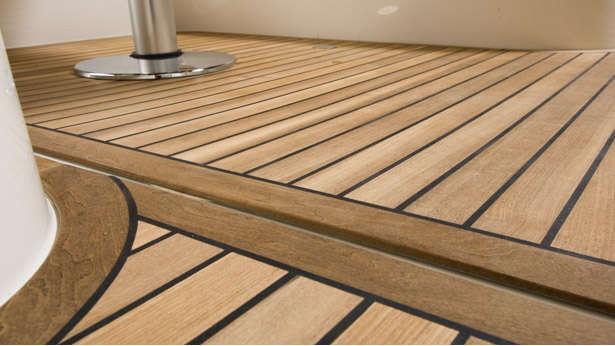 Alternatives to traditional teak wood boat international for Alternative to decking