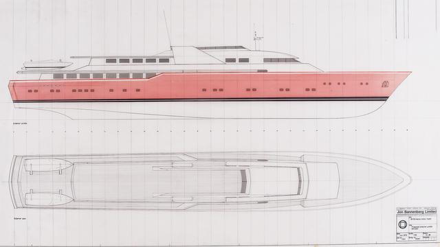 Revealed: Jon Bannenberg's yacht design for Fidel Castro