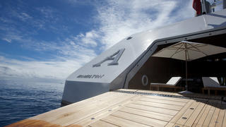 Be an interview with designer philippe starck yachts international - On Board Motor Yacht A With Philippe Starck Boat