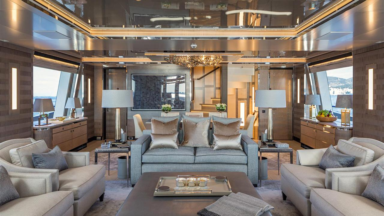 Look Inside New Photos Of Feadship Superyacht Kiss Boat