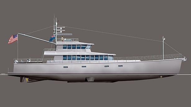 New FPB 115 Explorer Yacht From Dashew Offshore