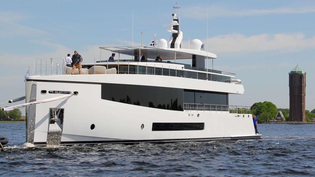 Feadship launches 34m aluminium yacht CID | Boat International