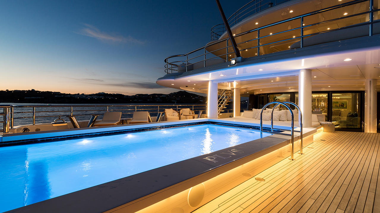 The Best Superyacht Pools In The World Boat International