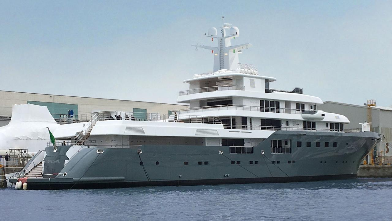 Newly Launched Italian Sea Group Motor Yacht Planet Nine For Sale