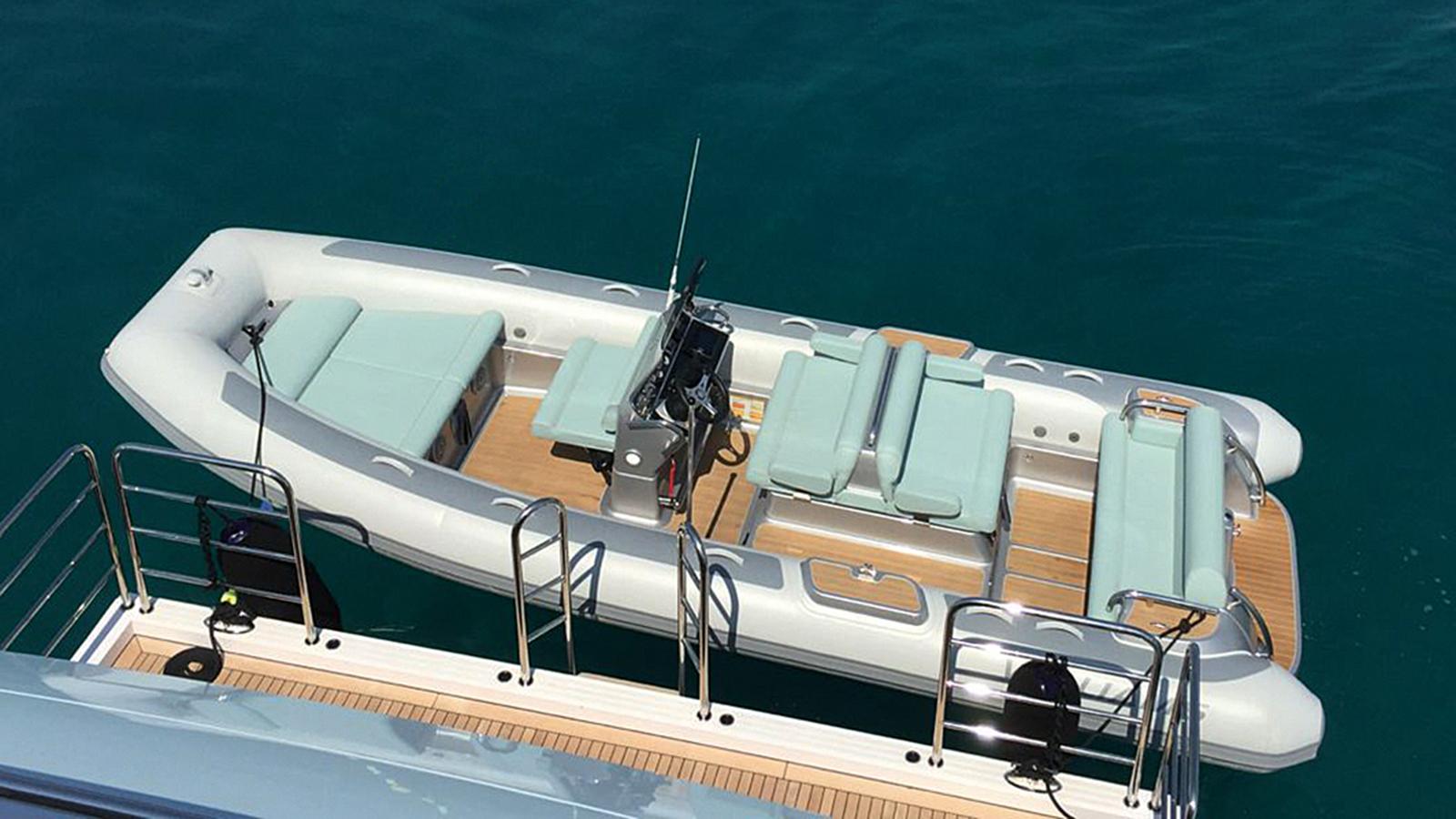 Eddie Jordan Custom Superyacht Tender Williams Dieseljet 625