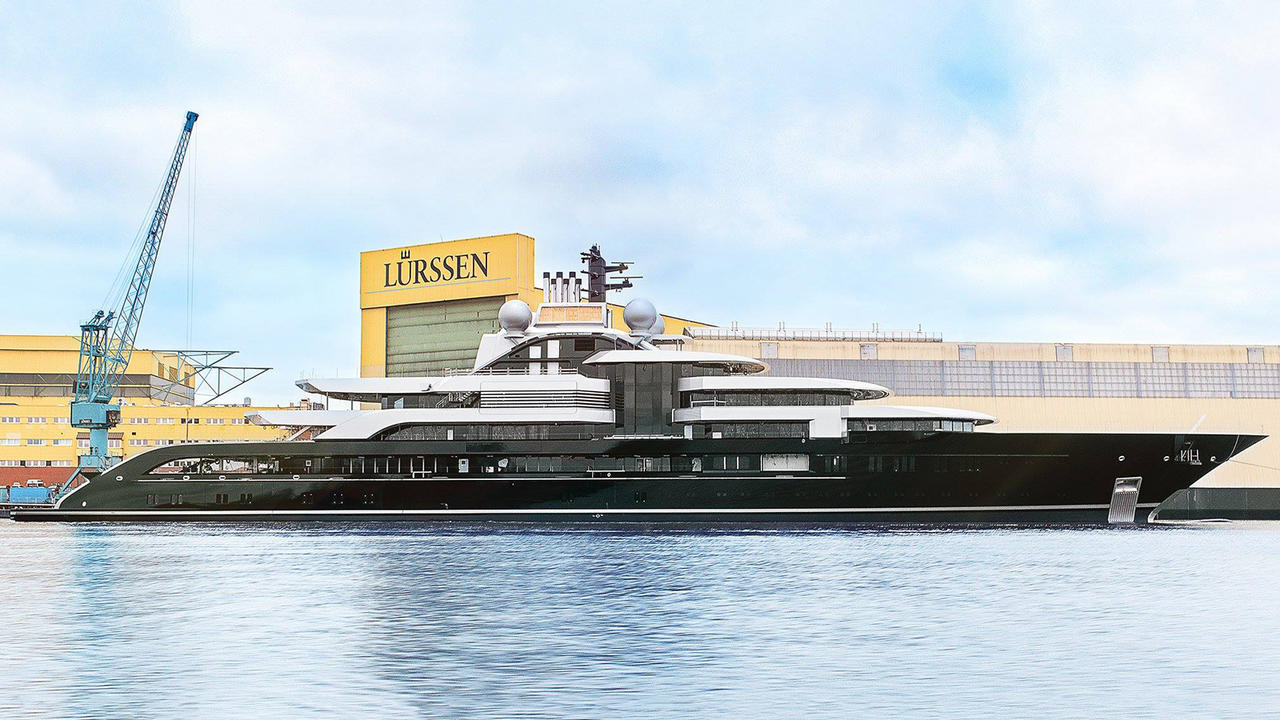 The 10 Biggest Lurssen Superyachts Boat International