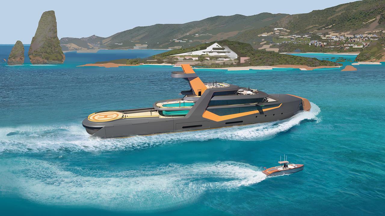 Superyachten concept  Top 6 design features of superyacht concept Project Time | Boat ...
