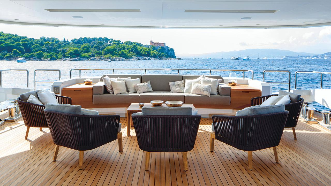 Create outdoor opulence with tribù furniture boat international