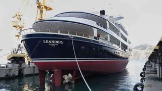 What is involved in a Lloyd's class survey Leander's story | Boat