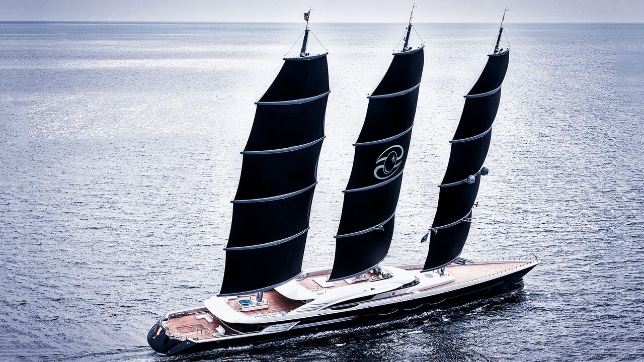 the 106 7 metre oceanco sailing yacht black pearl has been delivered