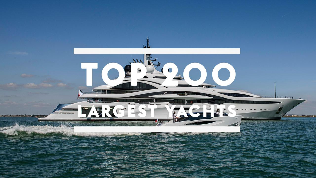 Megayachten 2018  Top 200 largest yachts in the world | Boat International