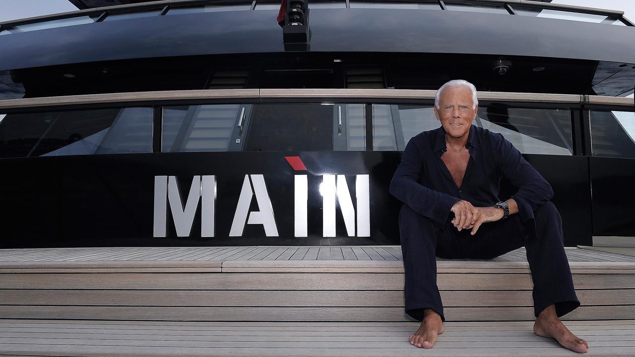 On Board Superyacht Ma 236 N With Fashion Designer Giorgio Armani Boat International