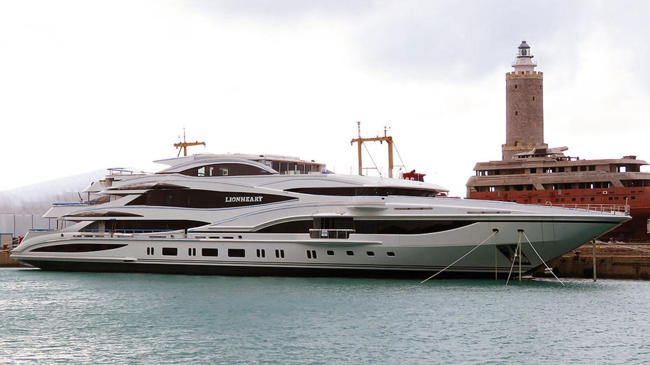 90m Benetti Superyacht Lionheart Delivered To Owner Boat International