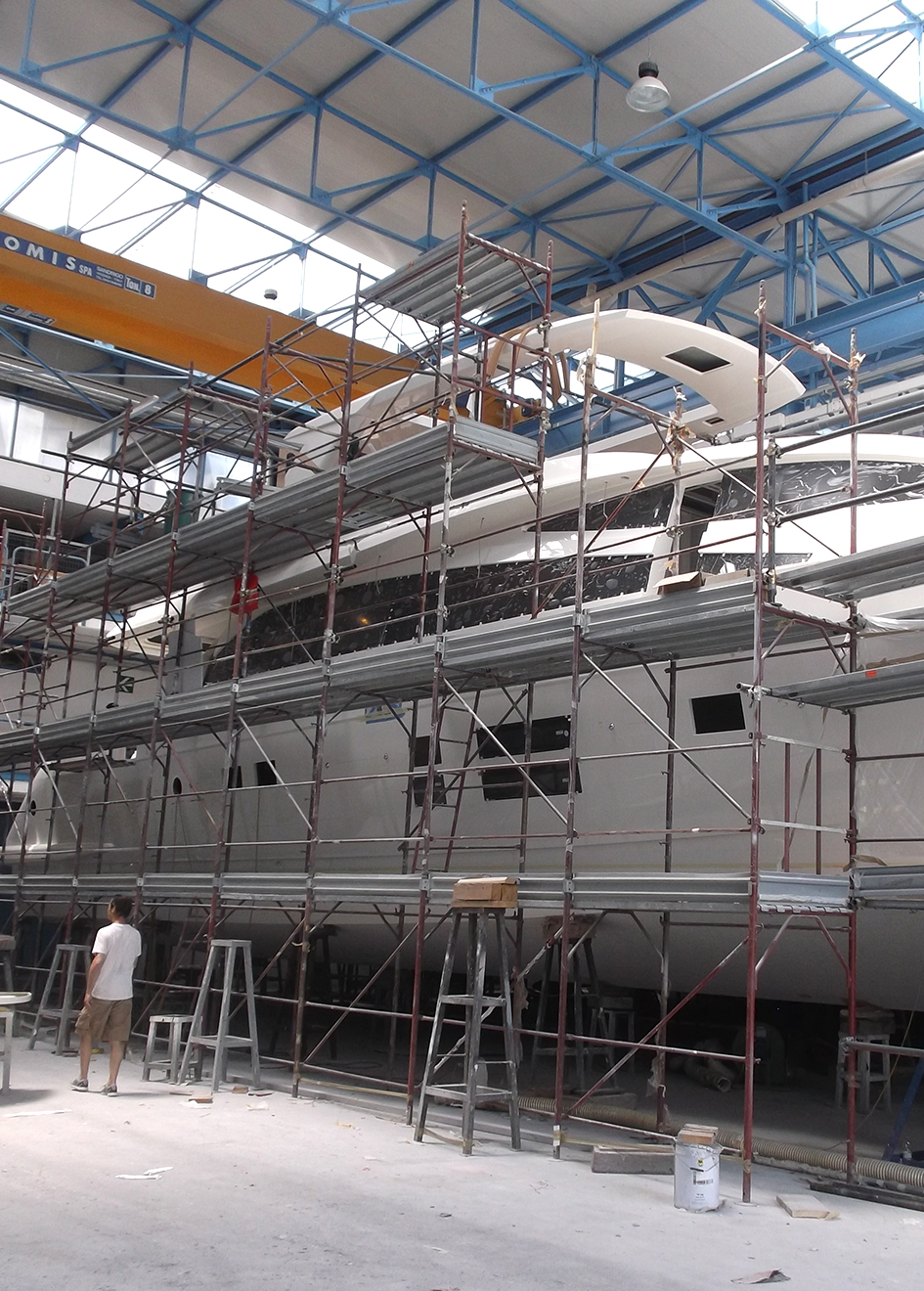 Amer 94 Yacht In Build