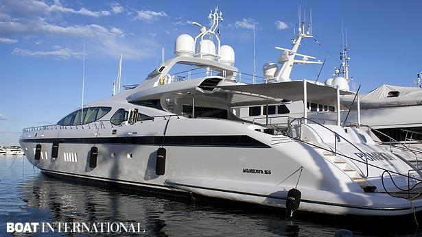 Mangusta 165 Superyacht Hull No 9 Delivered By Overmarine Boat