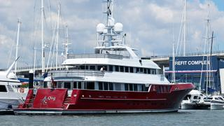 Cheoy Lee explorer yacht Qing begins Rivergate Marina refit | Boat