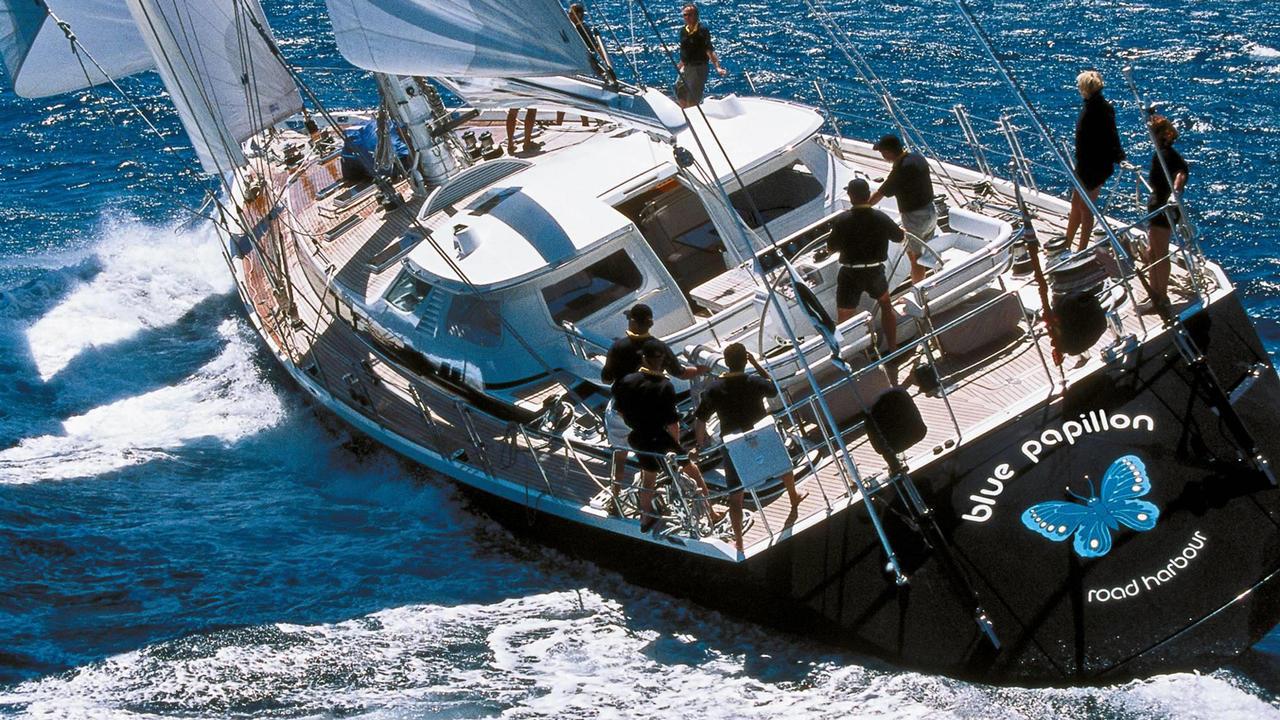 Jongert Sailing Yacht Blue Papillon Sold Boat International