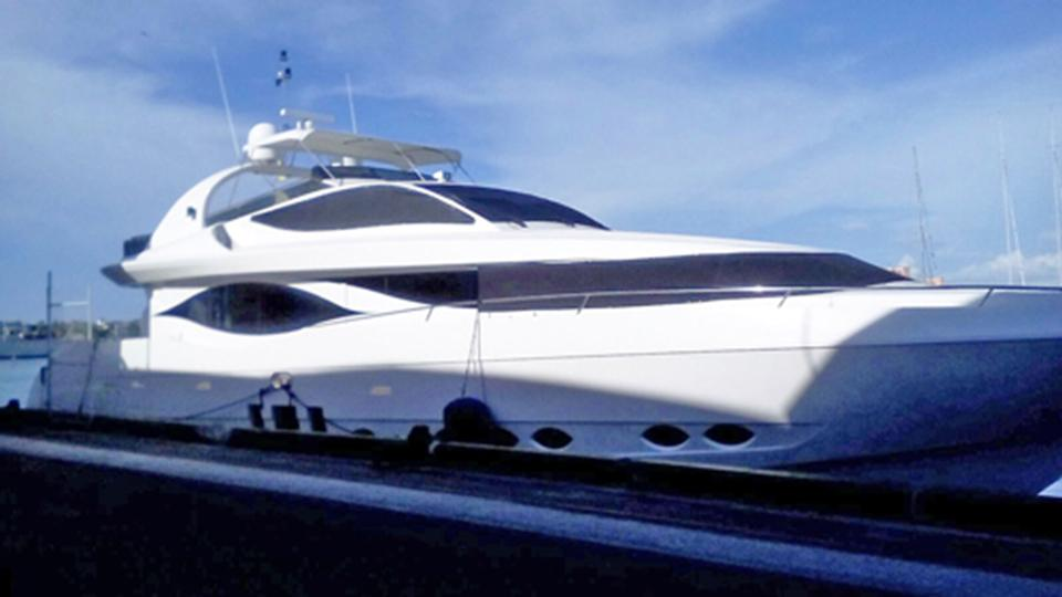 Guns seized and guests arrested on luxury yacht in The Bahamas