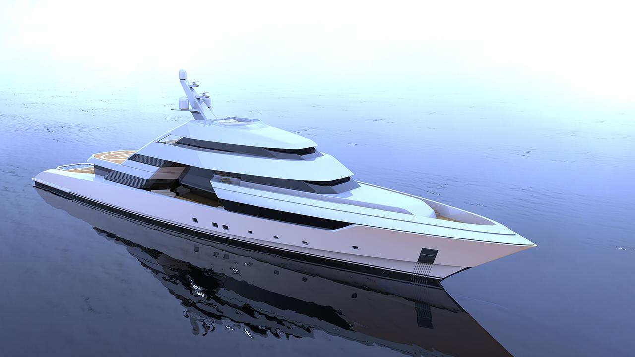 New 75m focus yacht concept puts the spotlight on for Yacht dekoration