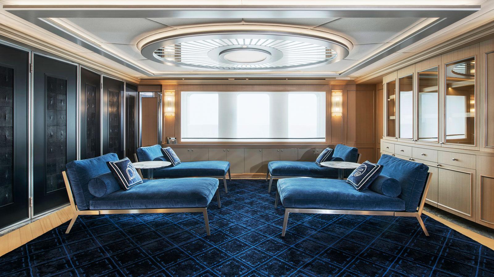 A very nautical lounge