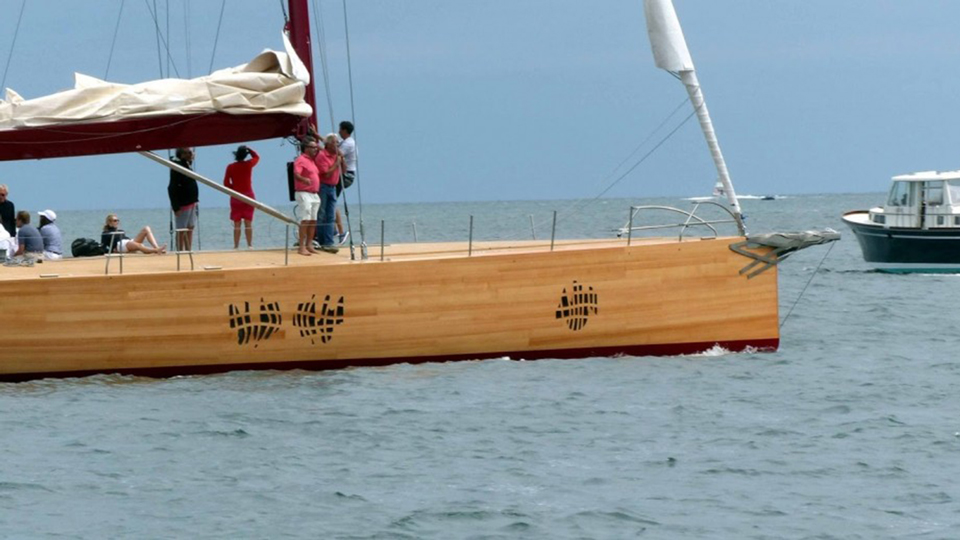 Frank gehry Foggy Yacht