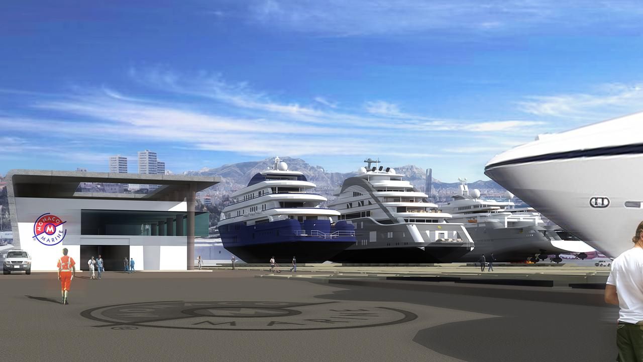 Monaco Marine set to open $50M yard for 130m yachts