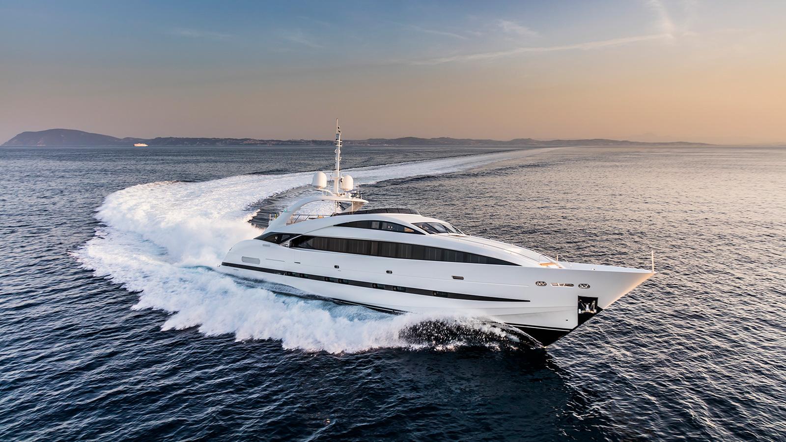 running-shot-of-the-isa-120-yacht-clorinda
