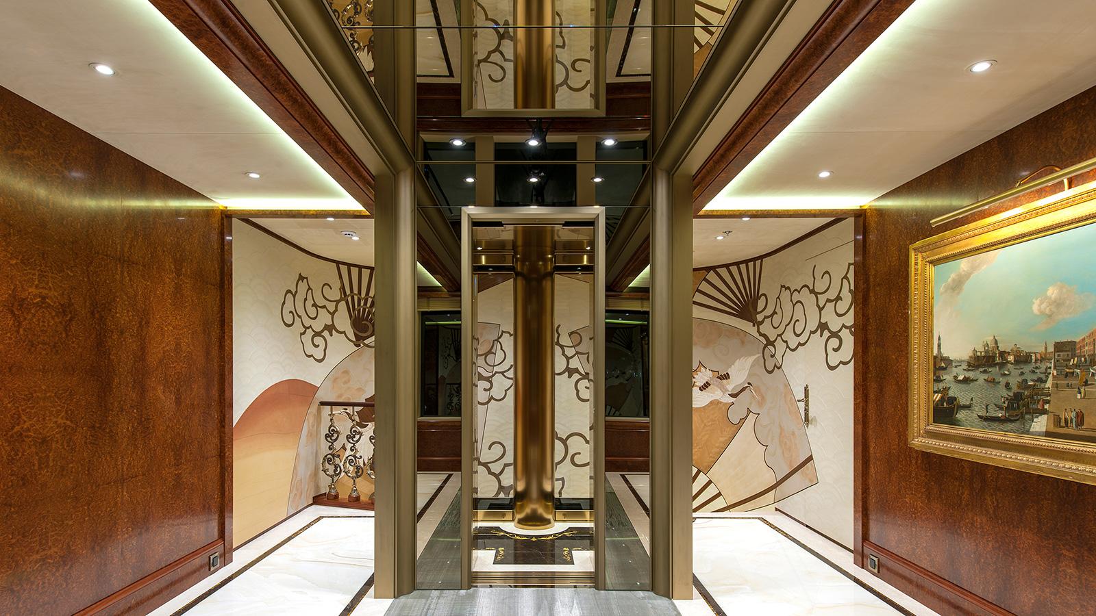 Ester Iii Yacht Elevator