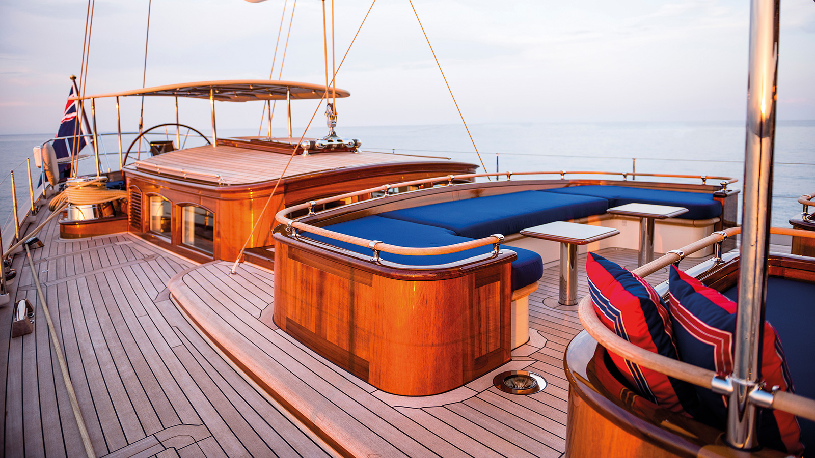 Atalante Yacht Deckhouse Exterior