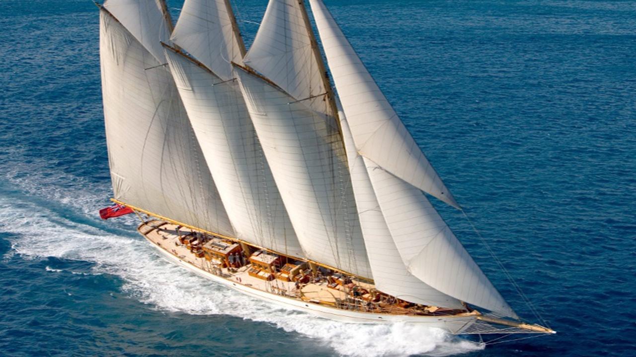 Sailing Superyacht Adix Begins Refit at The Yard Brisbane