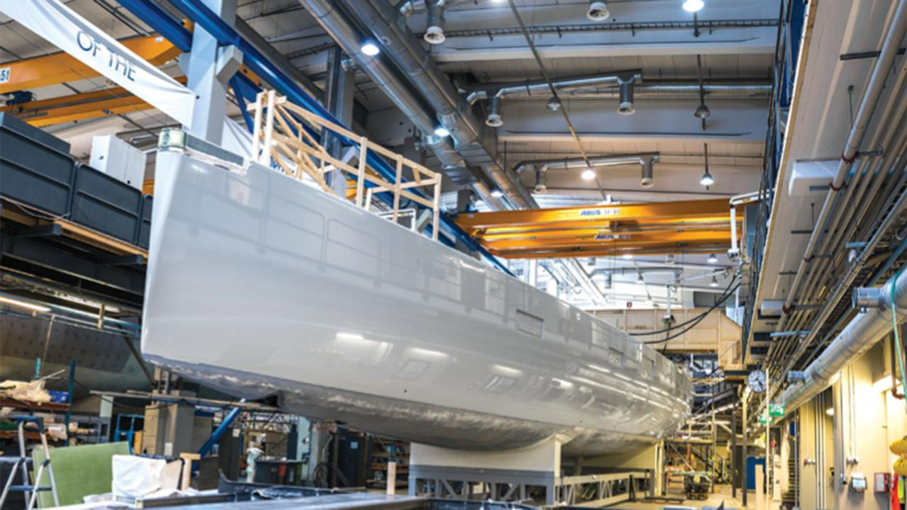 Flipboard 34m Liara Nears Completion At Baltic Yachts