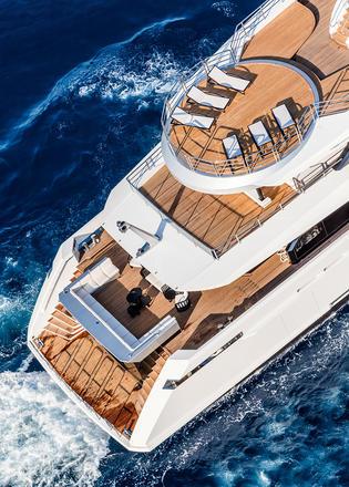 Crowning Glories The Best Superyacht Sundecks In World
