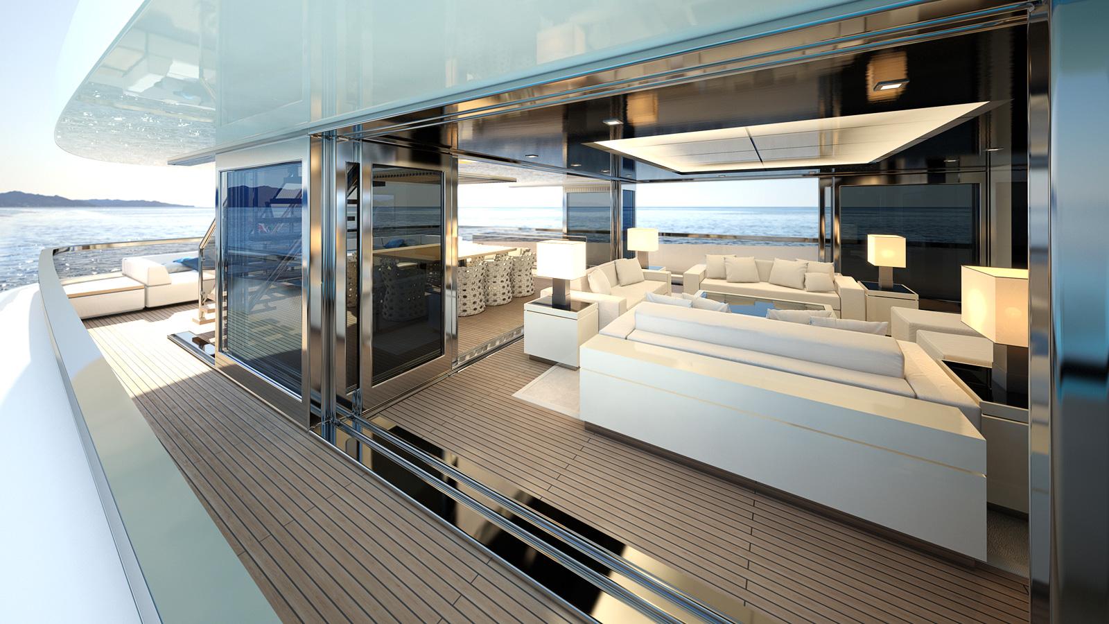 Mondo Marine M50 Aria Yacht Upper Deck