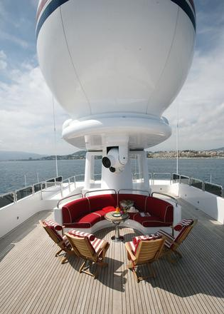 On board with Ambrous Young, owner of 65m Benetti Ambrosia