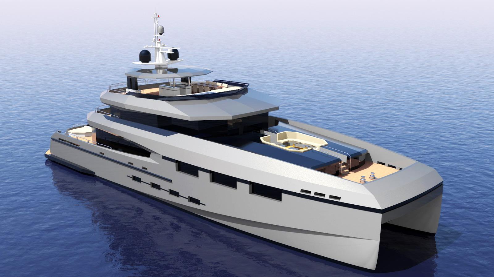 the-bow-of-the-heysea-135-vista-catamaran