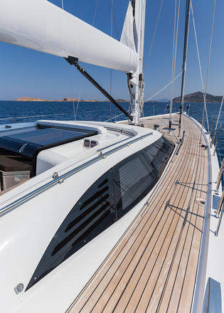 Maegan The Oyster Yacht Built For Bluewater Cruising