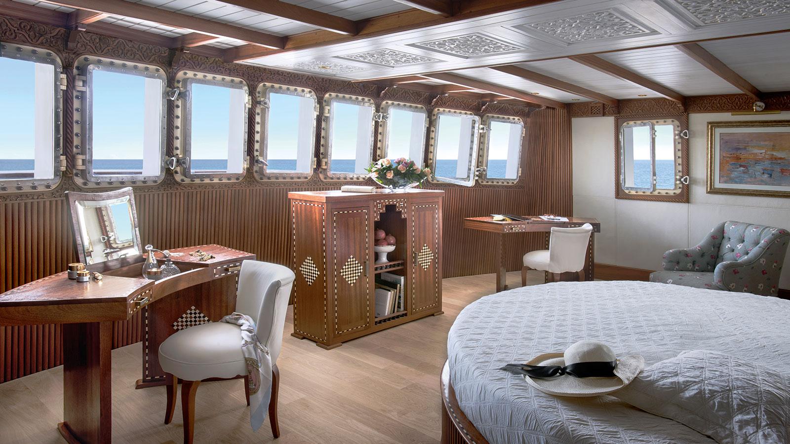 La Sultana Armateur Suite cabin