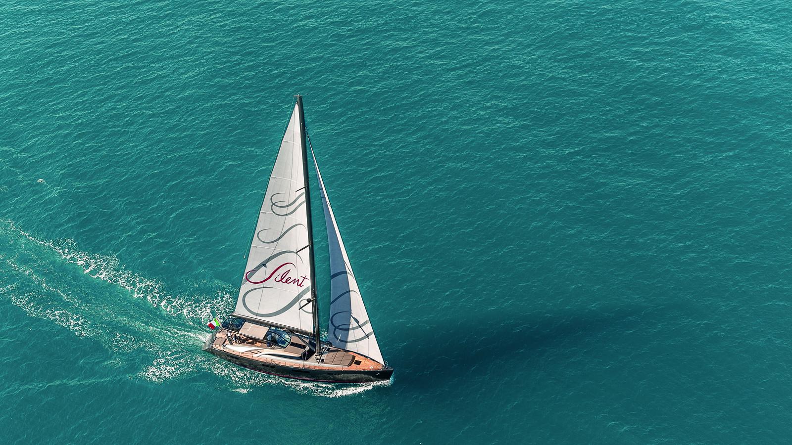 Gigreca under sail