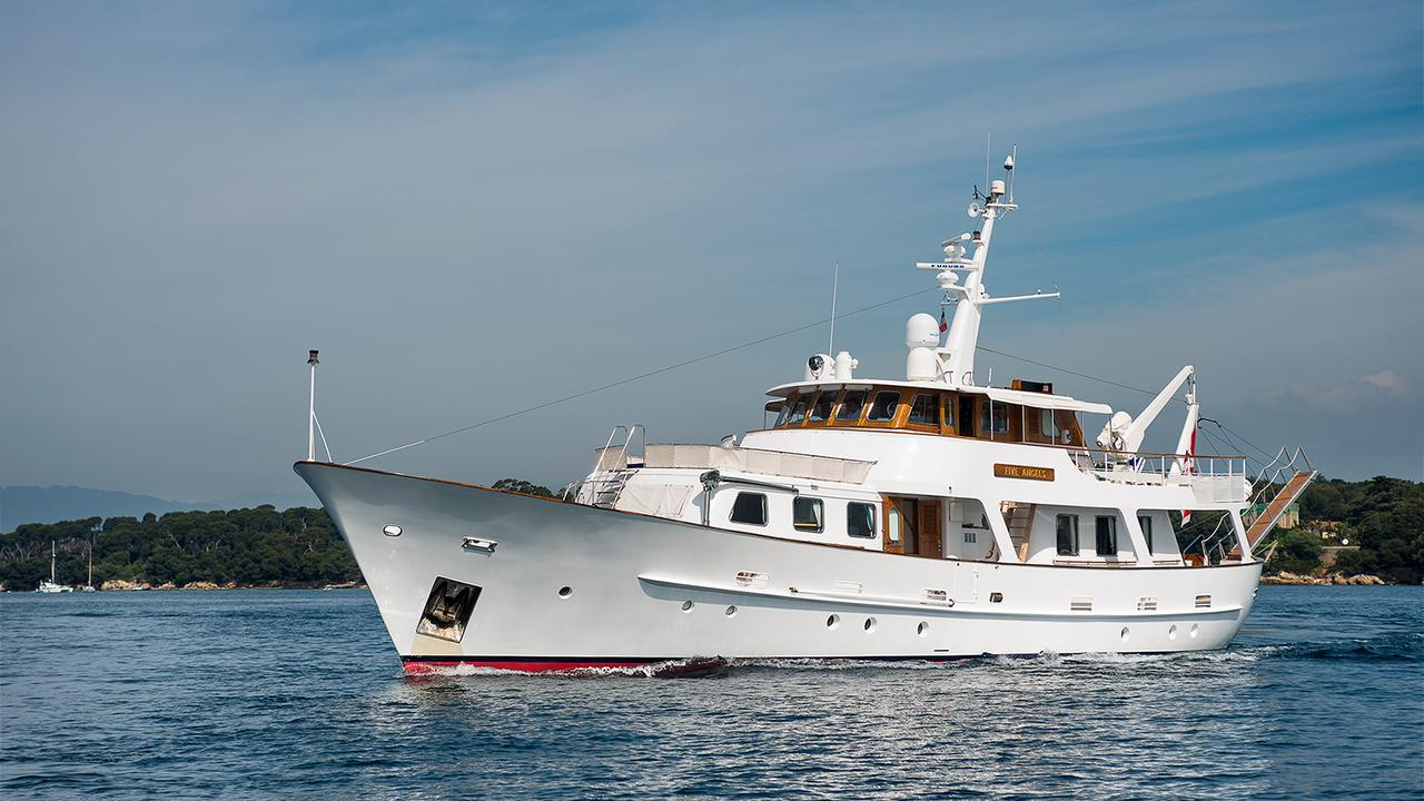 Cammenga motor yacht five angels for sale boat international for Angel boats and motors