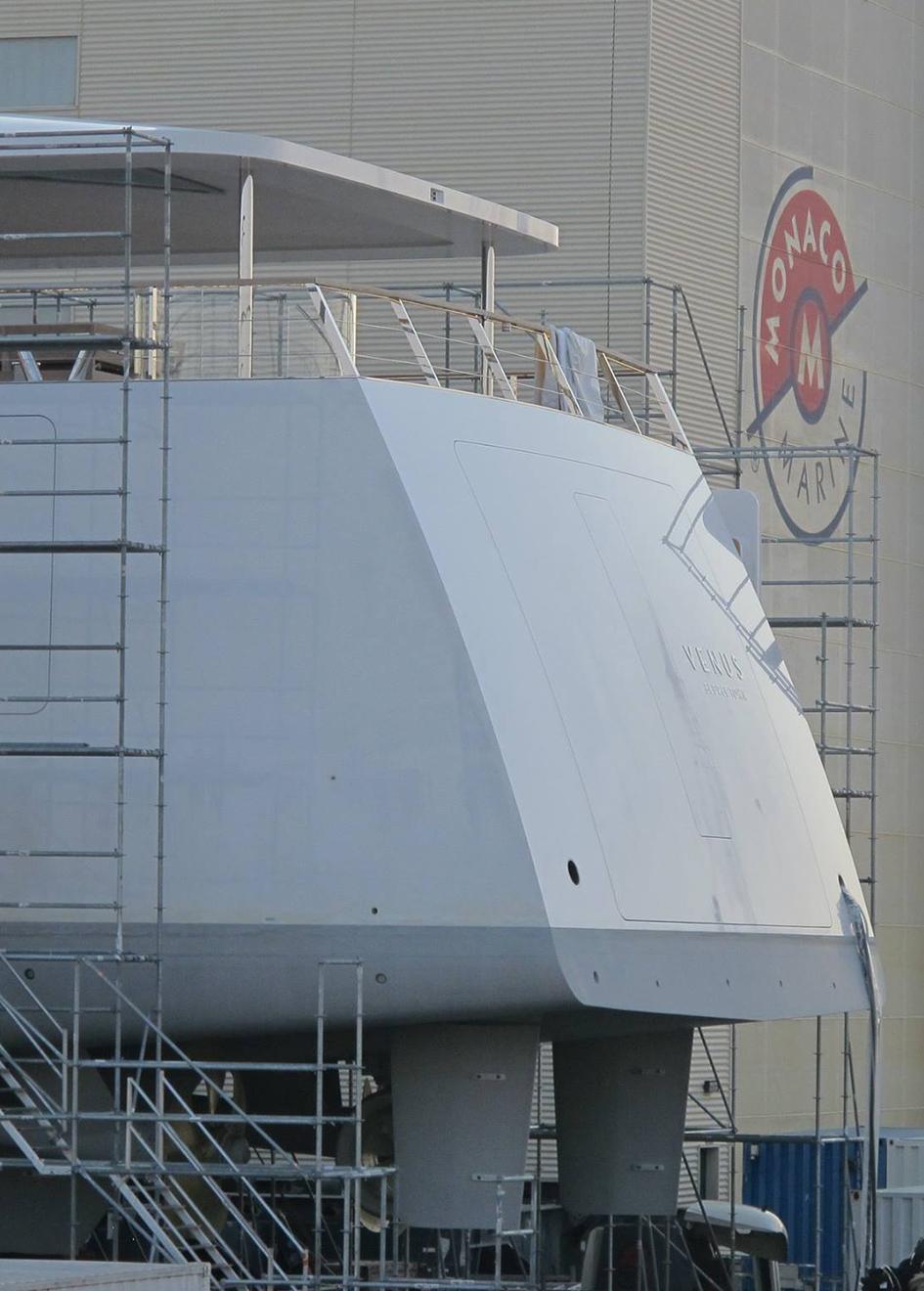 Portrait Venus Yacht Refit Aft