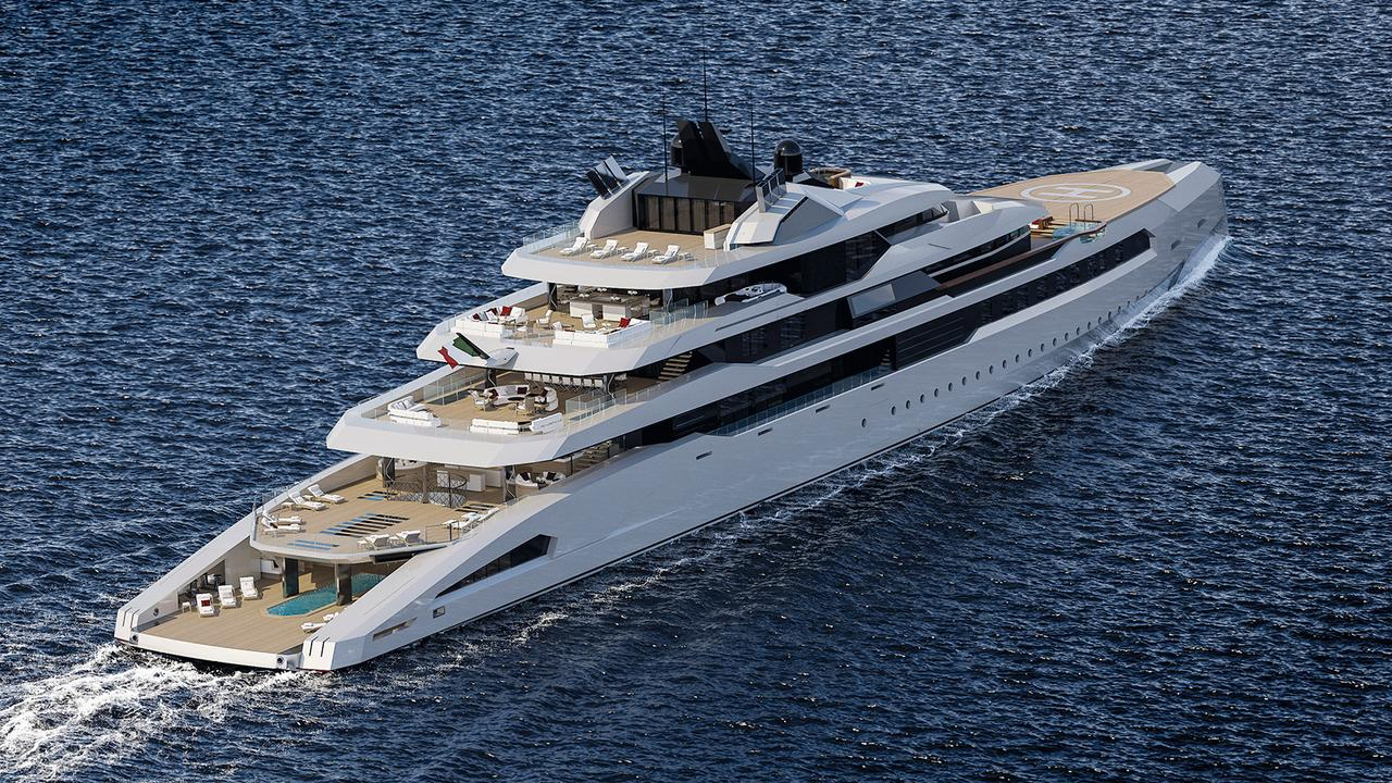 Fincantieri teams up with Hot Lab for 113m Ganimede concept
