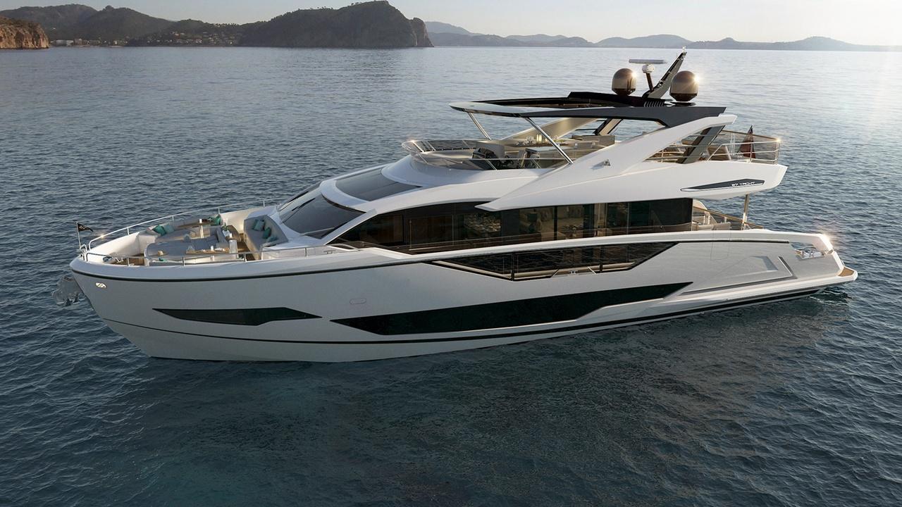 Sunseeker Project 8X Named 87 Yacht | Boat International