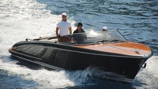 On board with Bruce Grossman, owner of 54 7m yacht Forever