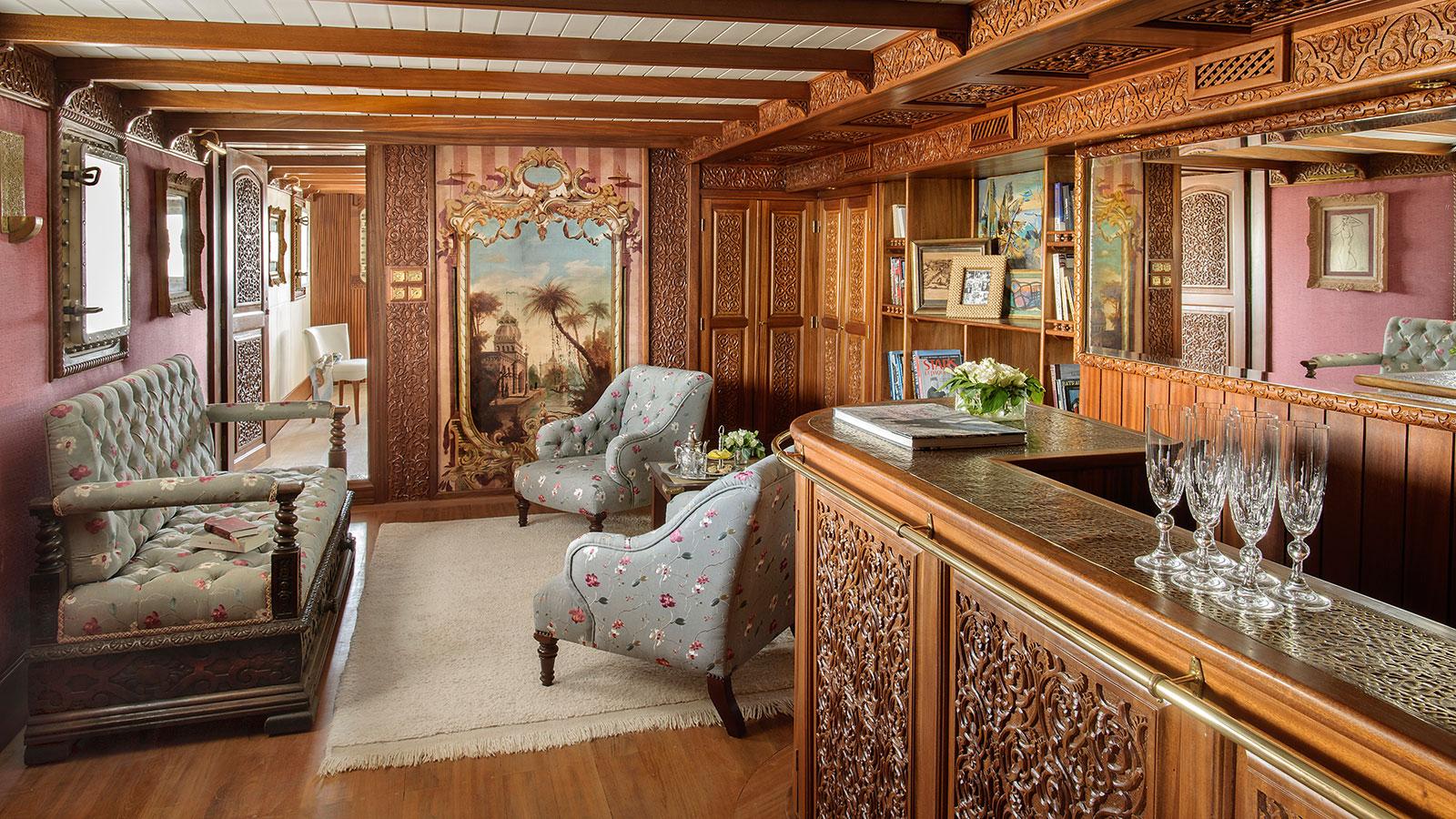 La Sultana Armateur Suite living area