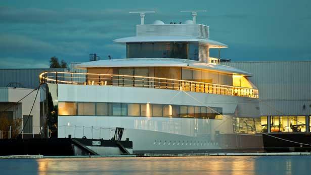 More Photos Of Steve Jobs Yacht Venus