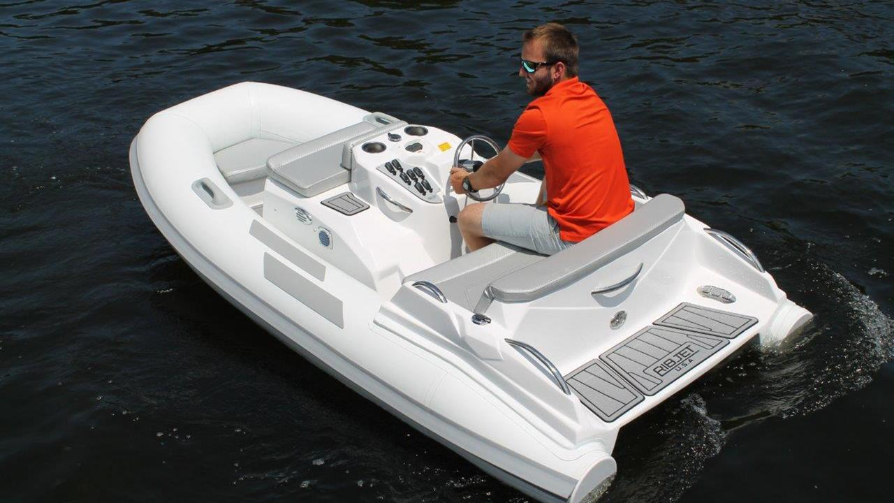 Small Jet Boats >> Ribjet 10 Jet Yacht Tender Zooms Into View Boat International